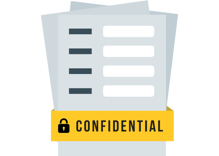 Take control of your confidential data