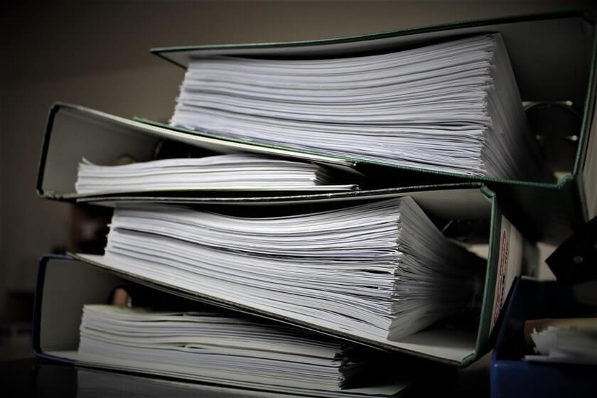 documents organizing